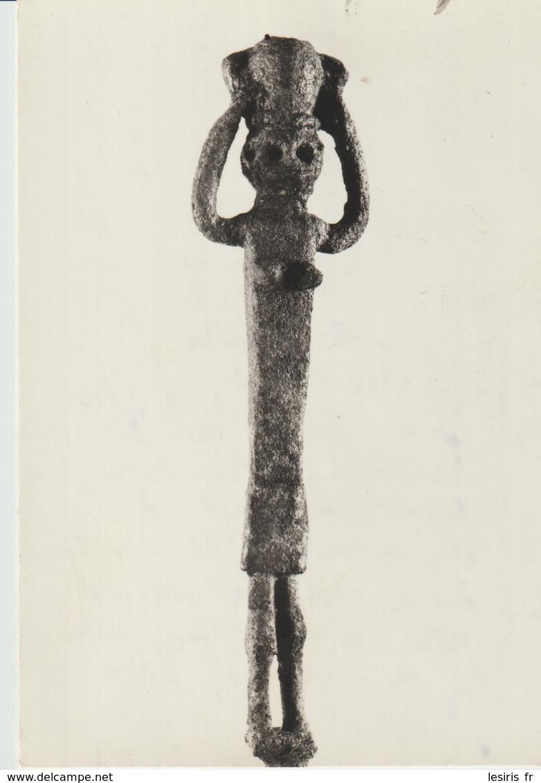 CP -  PHOTO - MUSOE NAZIONALE CAGLIARI - LA PORTATRICE D'ACQUA DE OLBIA - - Bellas Artes