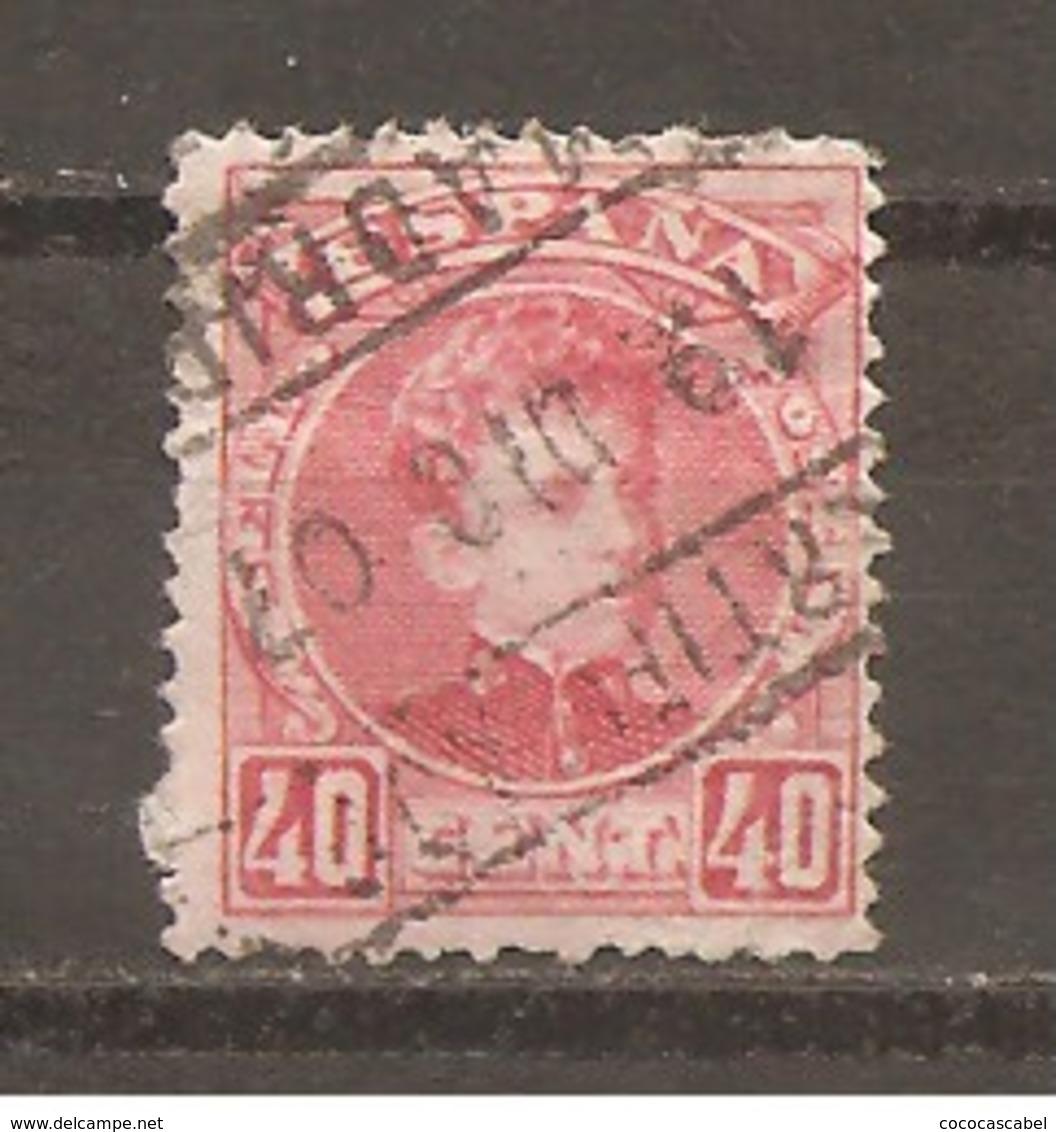 España/Spain-(usado) - Edifil  251 - Yvert 221 (o) (con Papel) - 1889-1931 Reino: Alfonso XIII