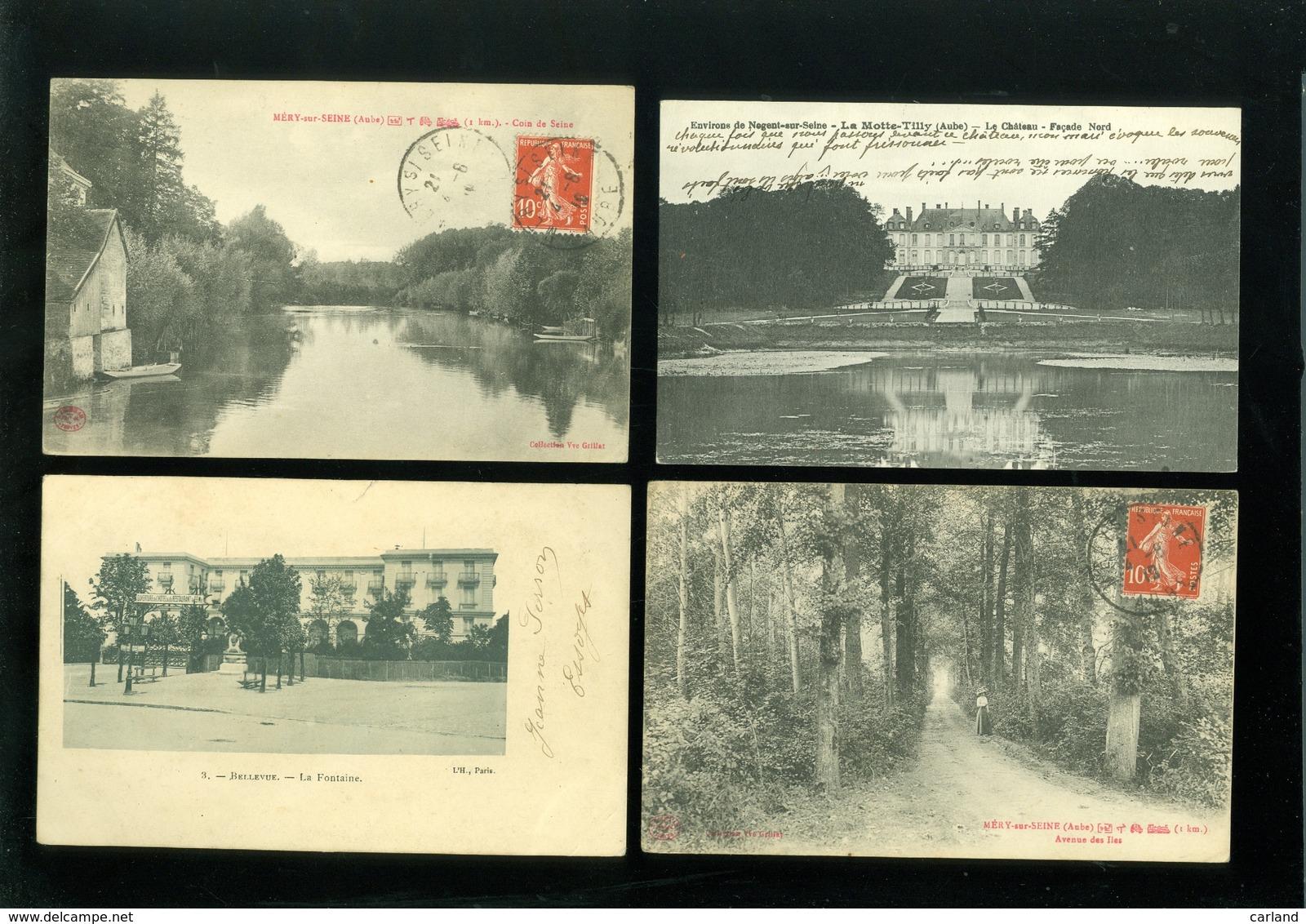 Beau Lot De 20 Cartes Postales De France  Aube     Mooi Lot Van 20 Postkaarten Van Frankrijk ( 10 ) - 20 Scans - Cartes Postales