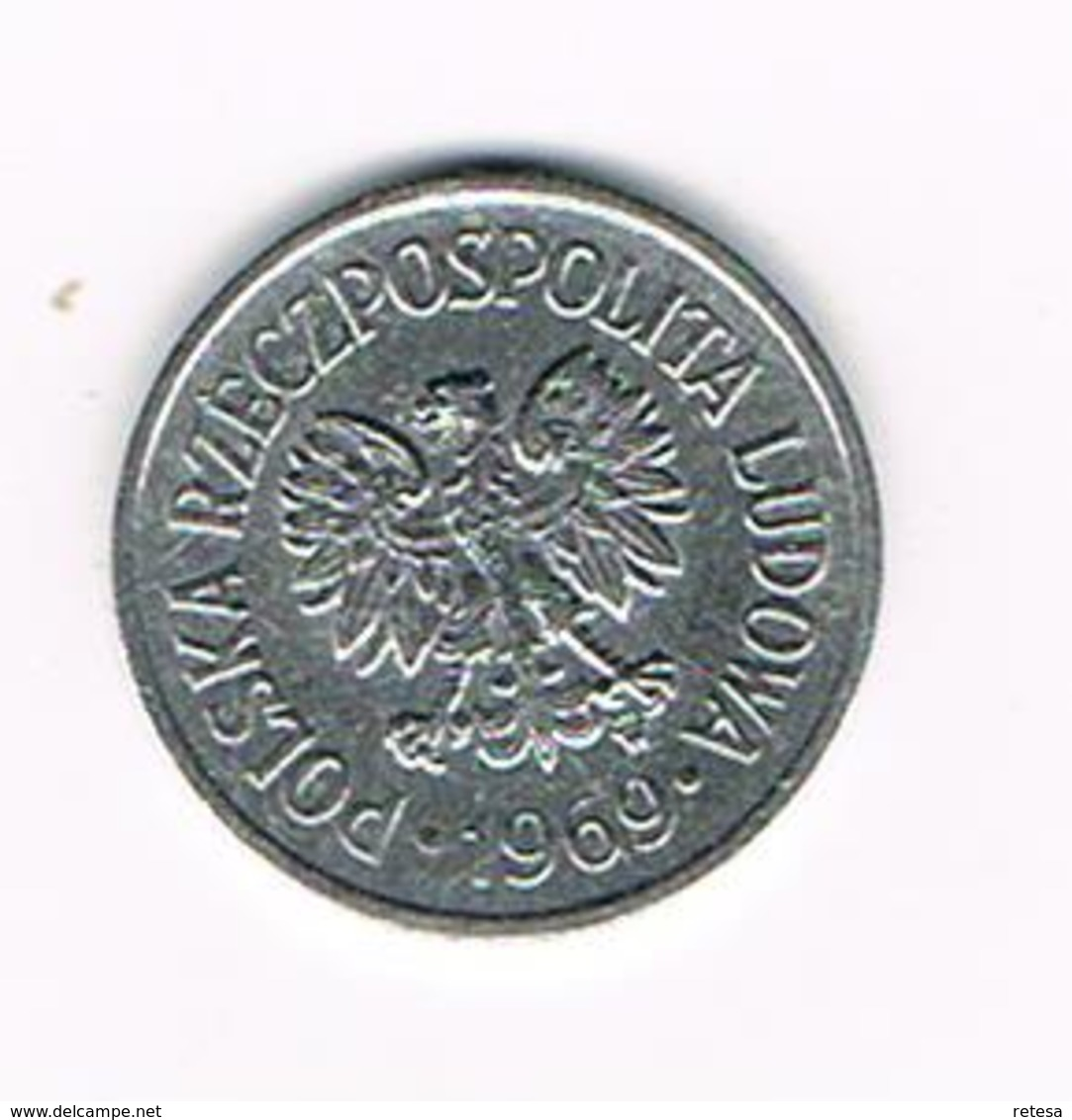POLEN  10 GROSZY  1969 - Pologne