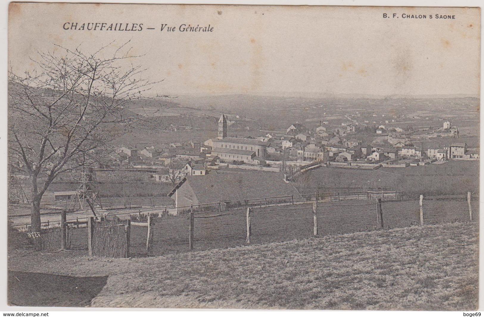 (R7) SAONE ET LOIRE ,CHAUFFAILLES - France