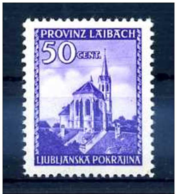 Z55922)Laibach 49 I**, Best. Gepr. Krischke - Besetzungen 1938-45