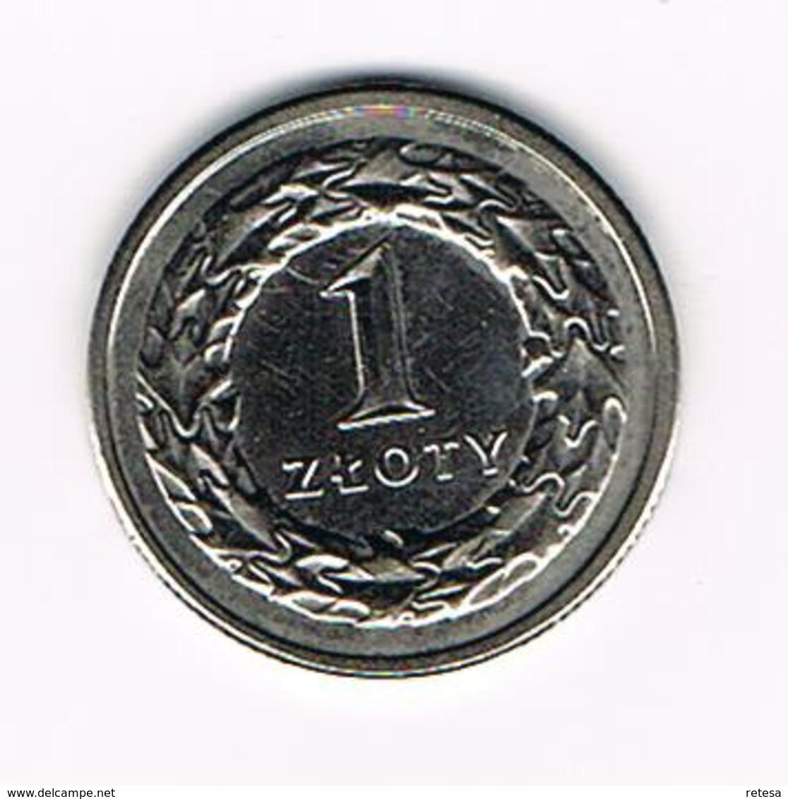 POLEN  1 ZLOTY  1991 - Pologne