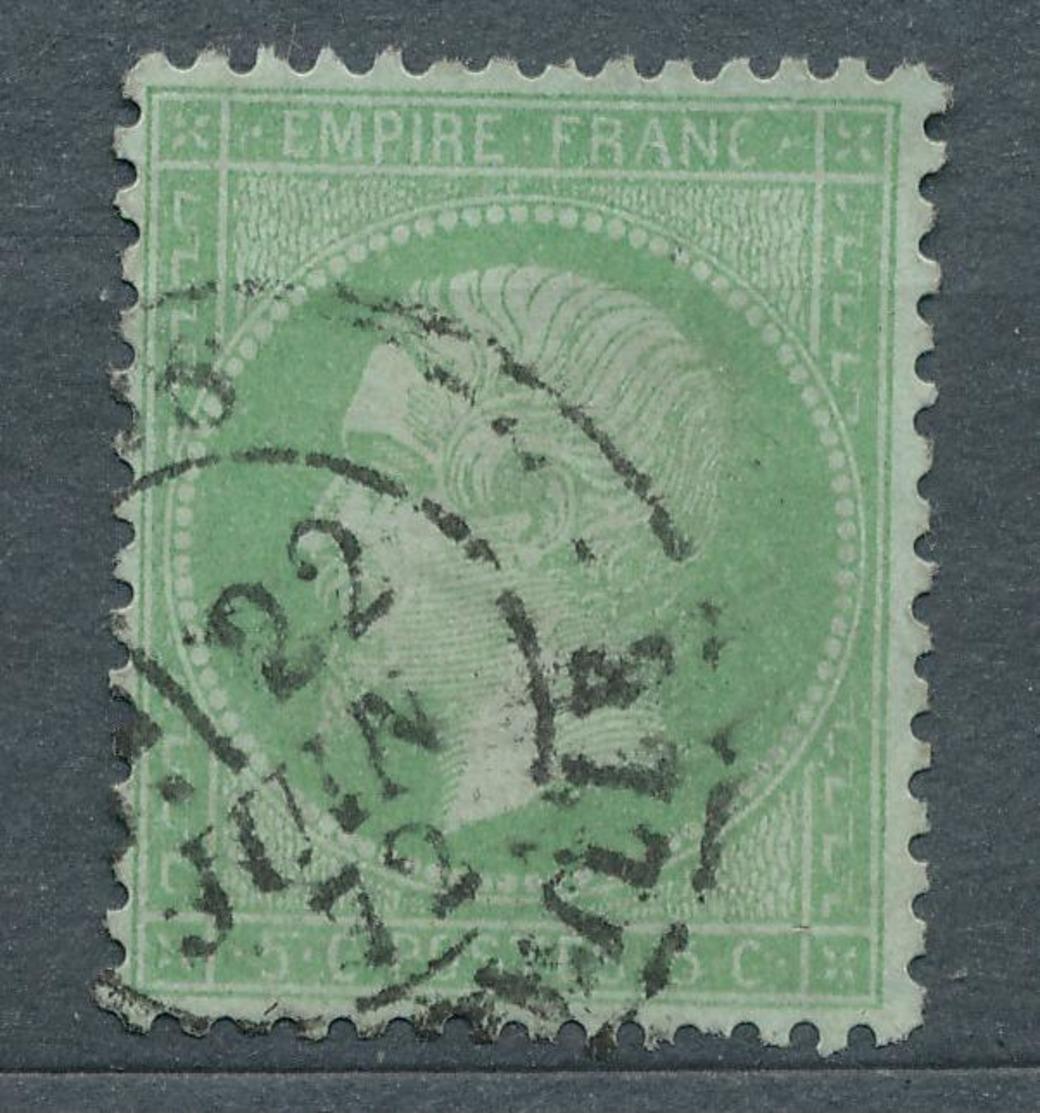 N°35 NUANCE ET OBLITERATION - 1863-1870 Napoléon III Lauré