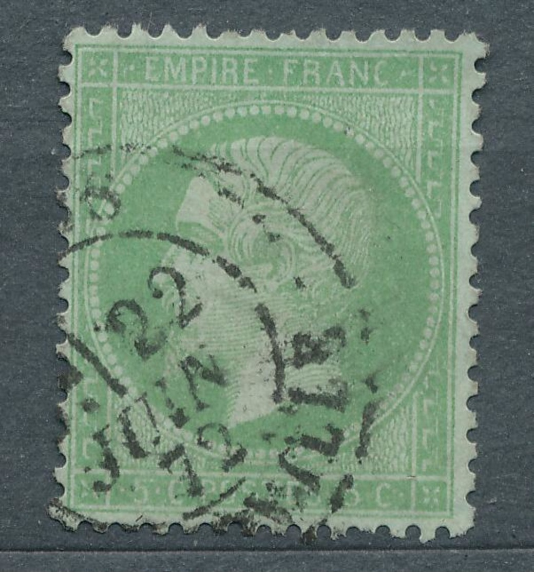 N°35 NUANCE ET OBLITERATION - 1863-1870 Napoleon III With Laurels