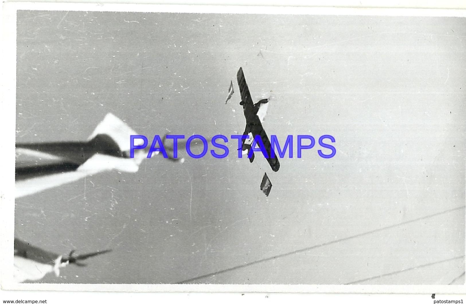 93759 AVIATION AVIACION EN VUELO PHOTO NO POSTCARD - Aviation