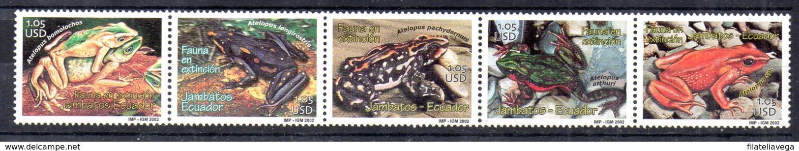 Serie De Ecuador N ºYvert 1630/34 Nuevo - Ecuador