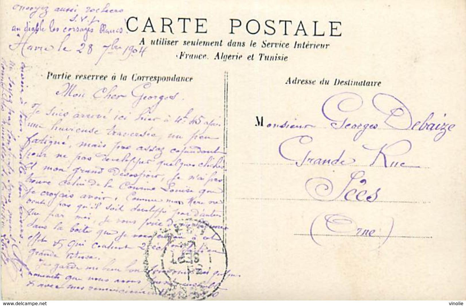 PIE-R-2-18-2456 : LE HAVRE . CARTE-PHOTO LE MUSEE - Le Havre