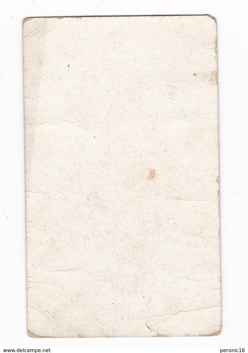 Chromo Non Publicitaire Fin XIXe Siècle, Mots Historiques, Louis XVIII. Dos Vierge - Chromos