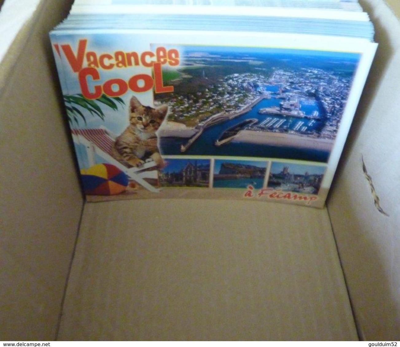 Lot De 1640 Cartes Postales Modernes Neuves Sur La Normandie - Postcards