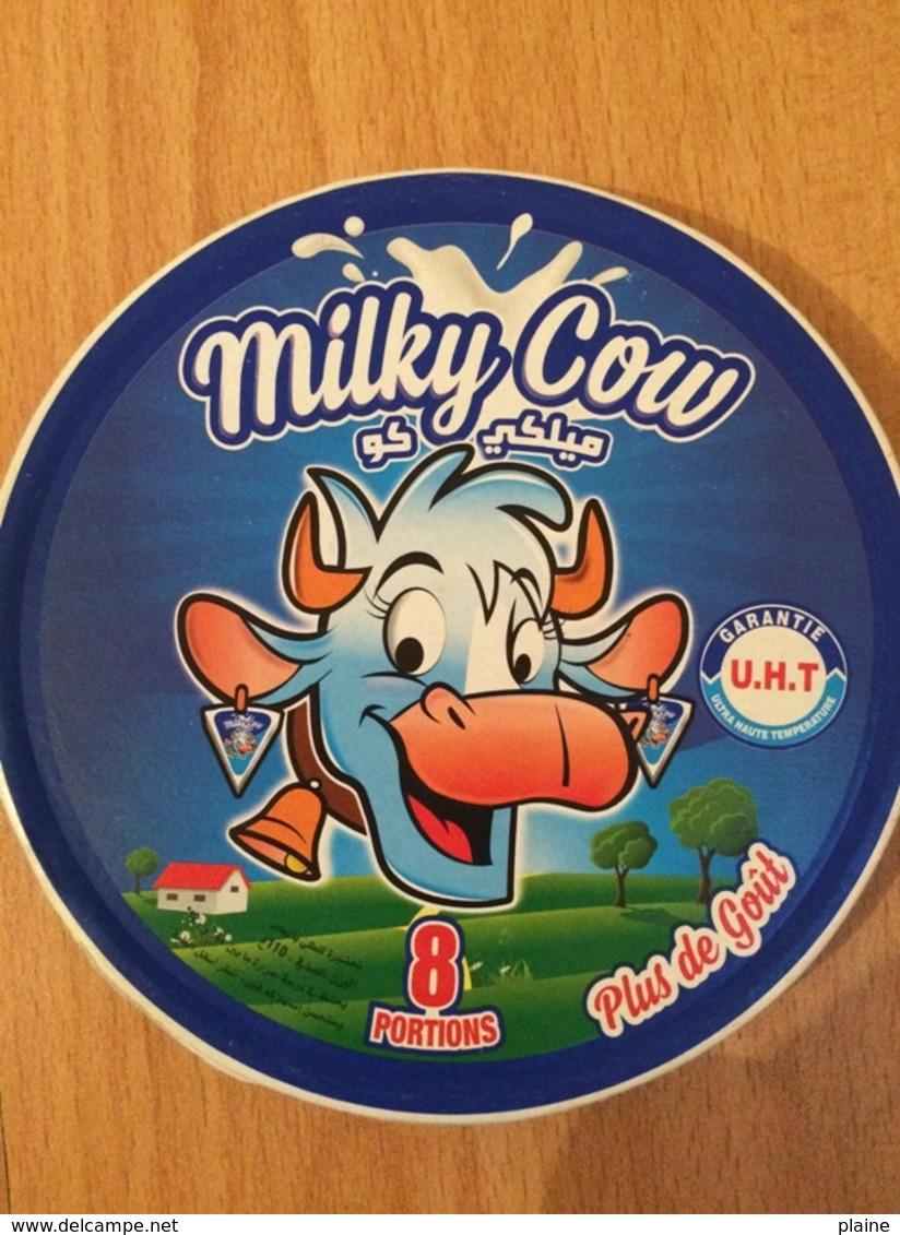 ETIQUETTE DE BOITE DE FROMAGE ''MILKY COW'' - Cheese