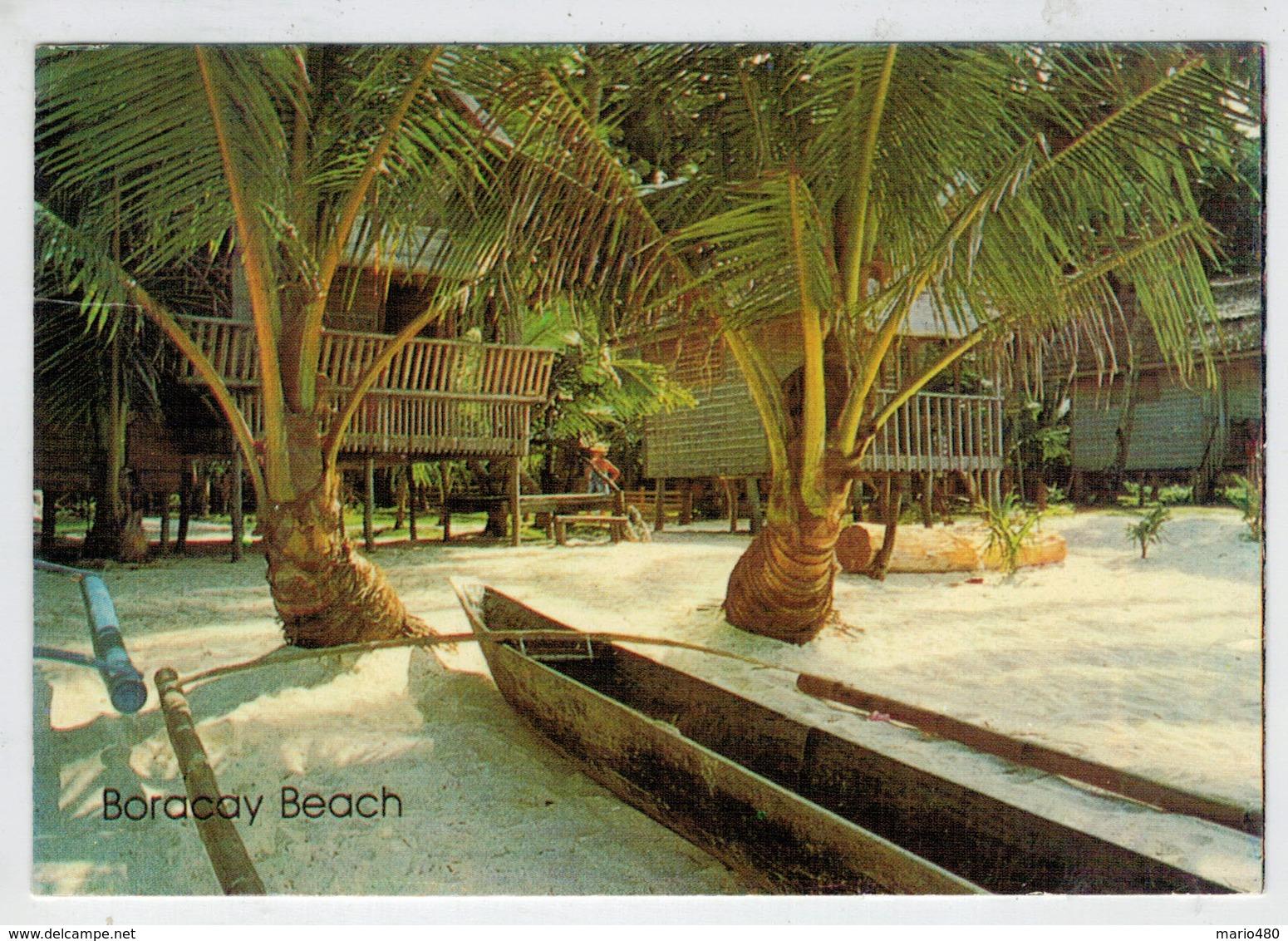 BORACAY     KALIBO,  AKLAN     2  SCAN  (VIAGGIATA) - Filippine
