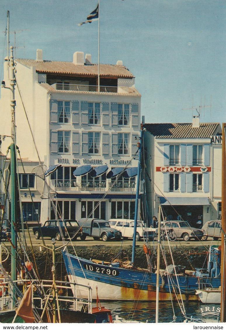 85 - ILE D' YEU -  Port Joinville Hôtel Des Voyageurs Fondé Par Eugène Seyrat En 1860 - Ile D'Yeu