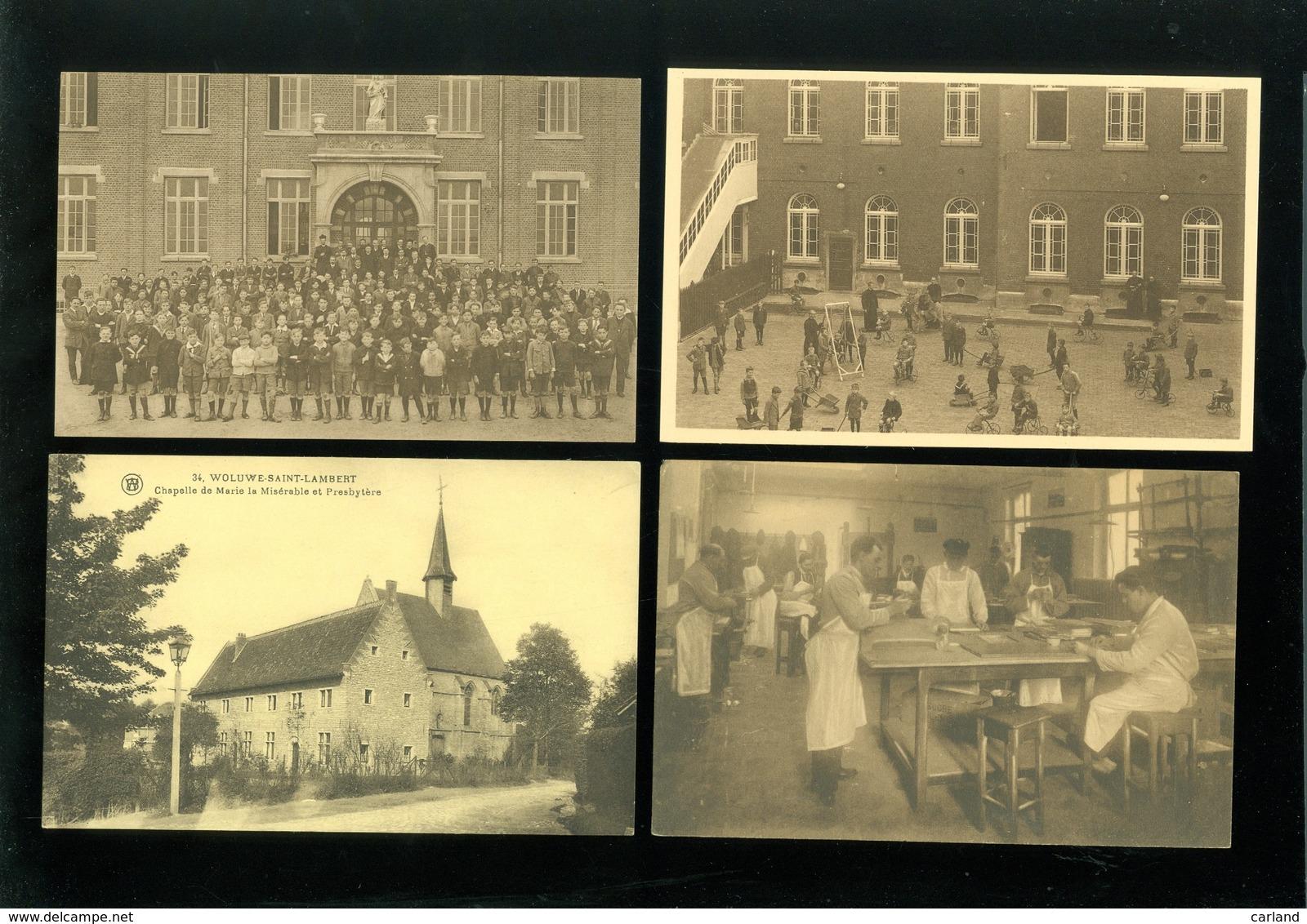 Beau Lot De 40 Cartes Postales De Bruxelles  Woluwé  Mooi Lot Van 40 Postkaarten Van Brussel  Woluwe - Postkaarten