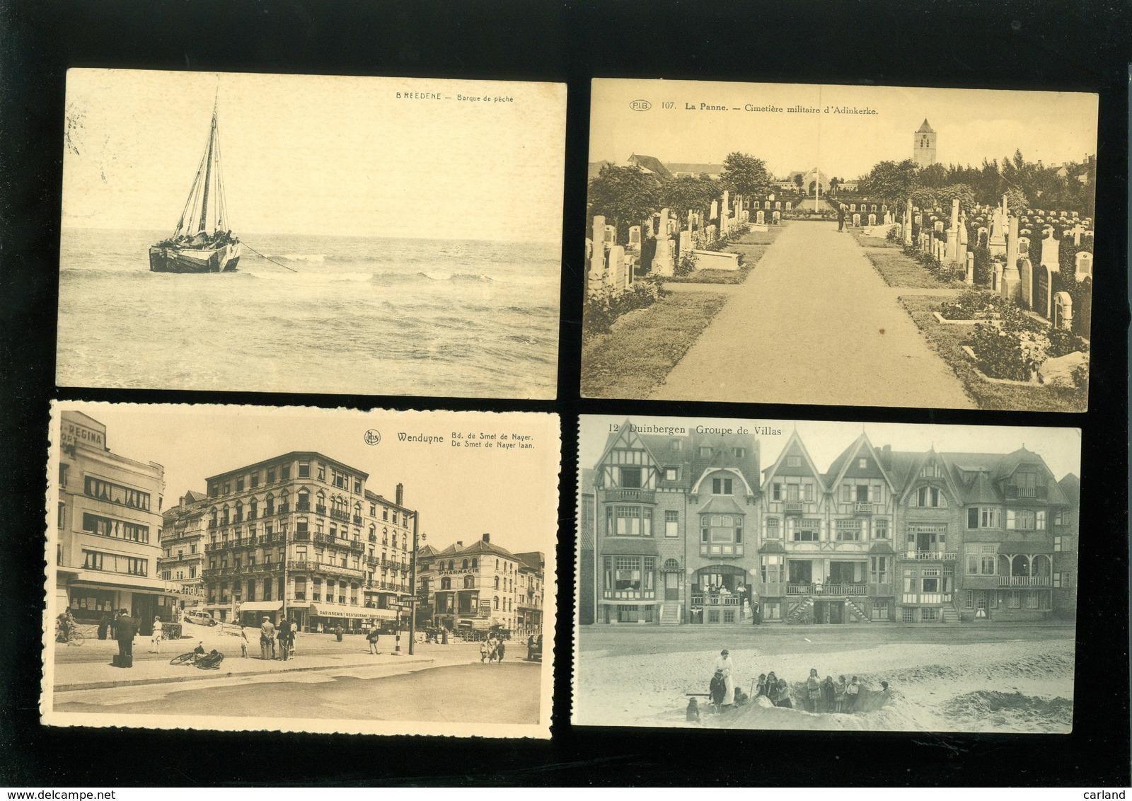 Beau Lot De 60 Cartes Postales De Belgique La Côte      Mooi Lot Van 60 Postkaarten Van België  Kust  - 60 Scans - Postkaarten