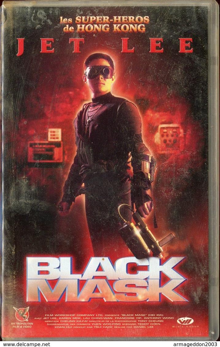 K7 VHS CASSETTE VIDEO - JET LEE BLACK MASK - Action, Aventure