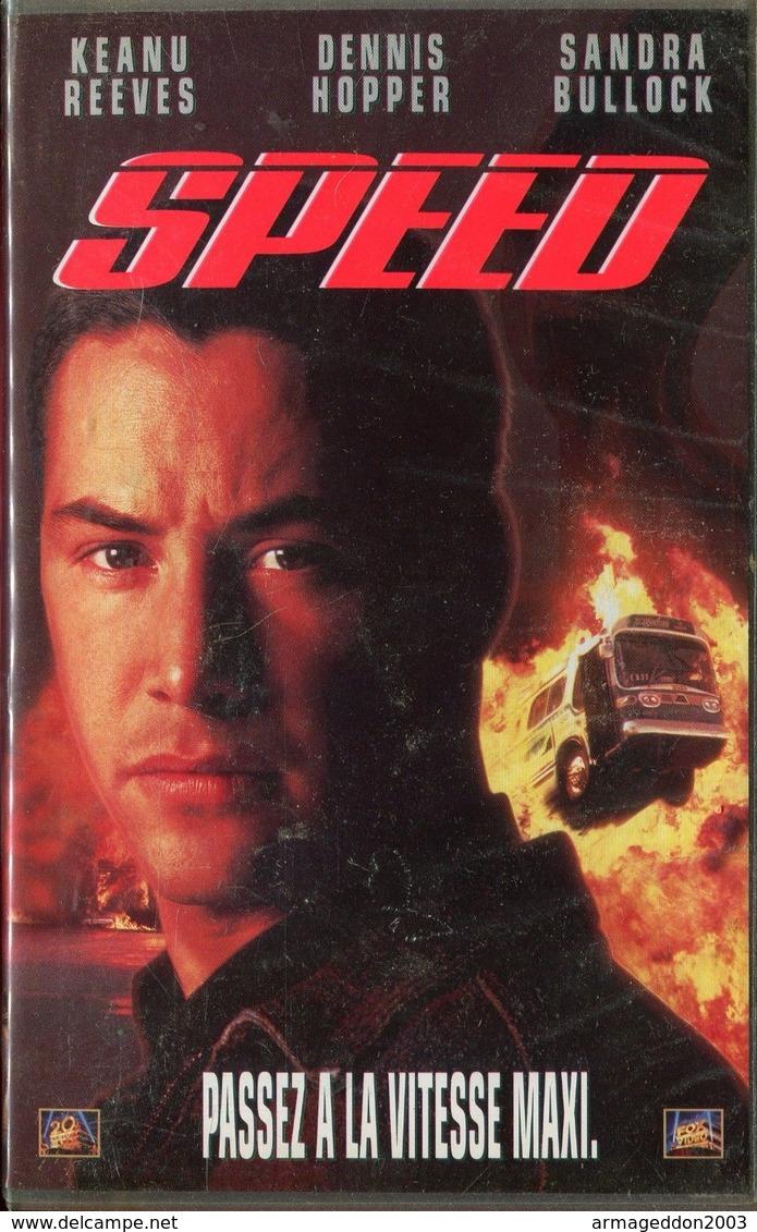 K7 VHS CASSETTE VIDEO - SPEED - Action, Aventure