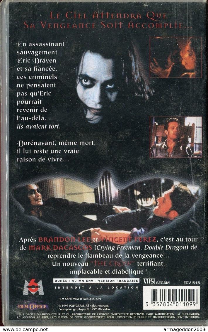K7 VHS CASSETTE VIDEO - THE CROW - Action, Aventure