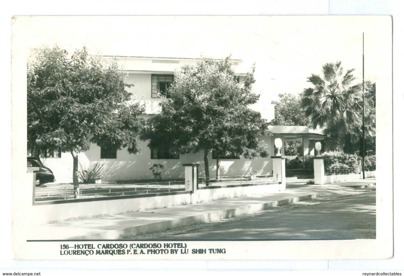 1950's, Mozambique, Hotel Cardoso. Real Photo Pc, Used. - Mozambique