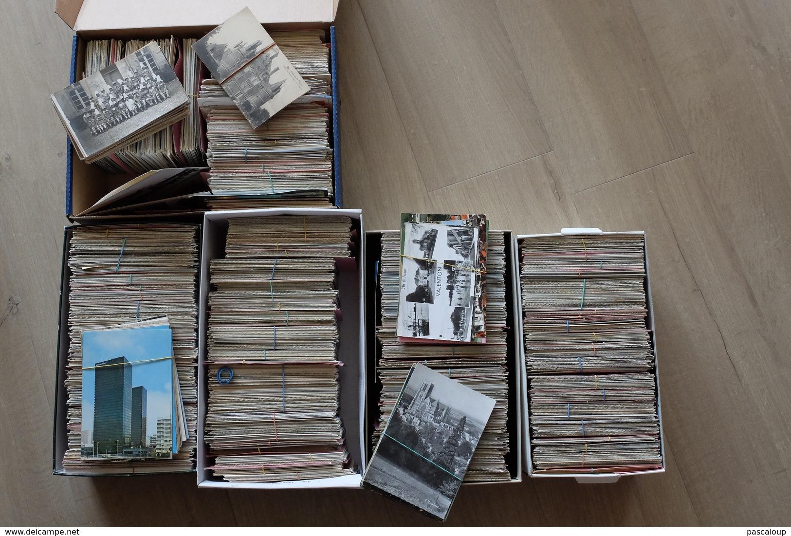 Lot De Plus De 5000 Cartes - Cartes Postales