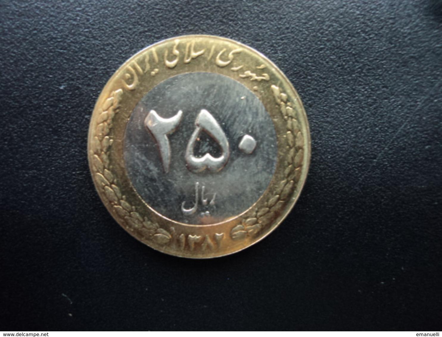 IRAN : 250 RIALS  1382 (2003)  KM 1262   Non Circulé - Iran