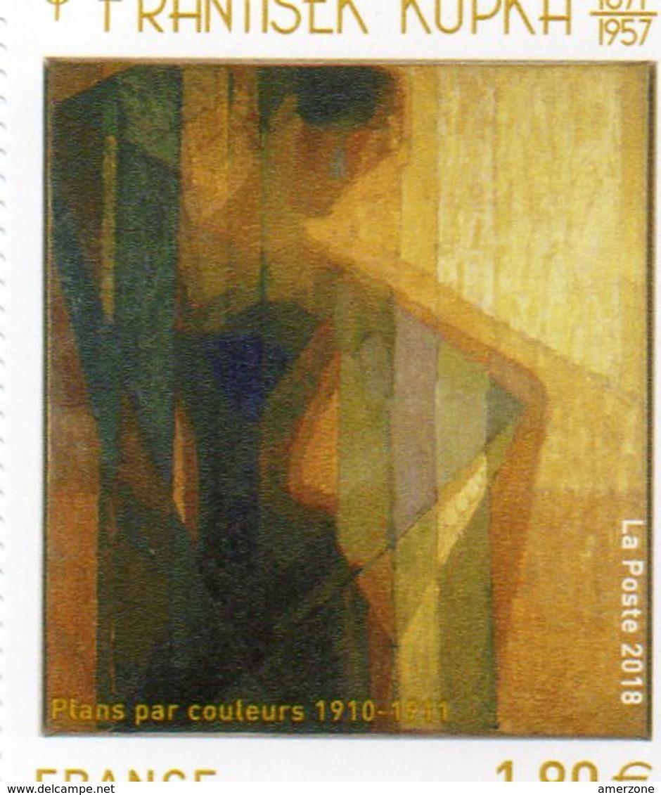 TIMBRE DE FRANTISEK KUPKA  EXPRESSION E LA MODERNITE  NEUF - Collezioni