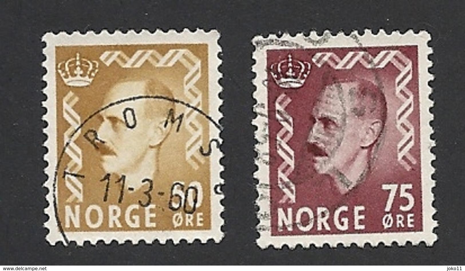 Norwegen, 1957, Mi.-Nr. 414-415, Gestempelt - Norwegen