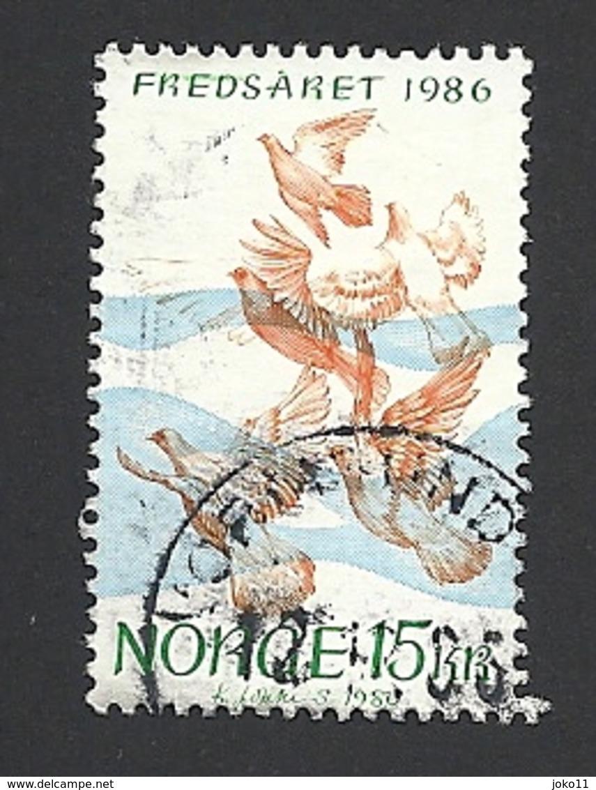 Norwegen, 1986, Mi.-Nr. 960, Gestempelt - Norwegen