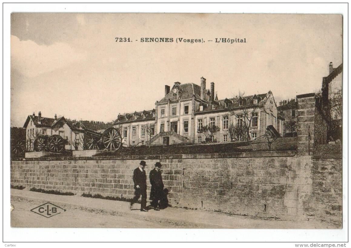 20747   CPA SENONES  :  L'Hôpital  , Jolie Cpa 1928   ,  ACHAT DIRECT  !! - Senones