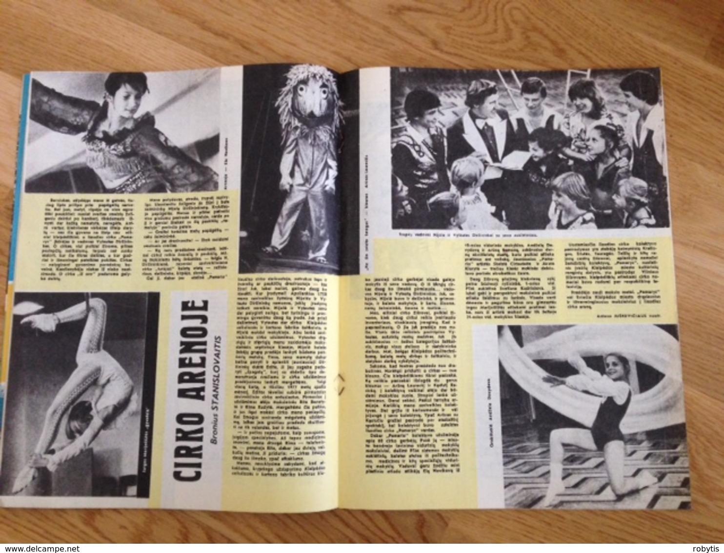 Magazine Student 1985 Lithuania - Junior