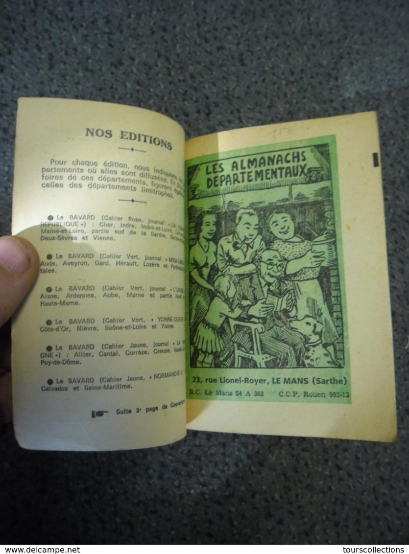 ALMANACH 1972 - Le Gros BAVARD De La Nouvelle République De 320 Pages, Le + Utile Le + Amusant - Calendriers