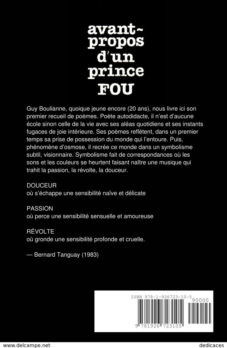 Avant-propos D'un Prince Fou, Par Guy Boulianne - Autres