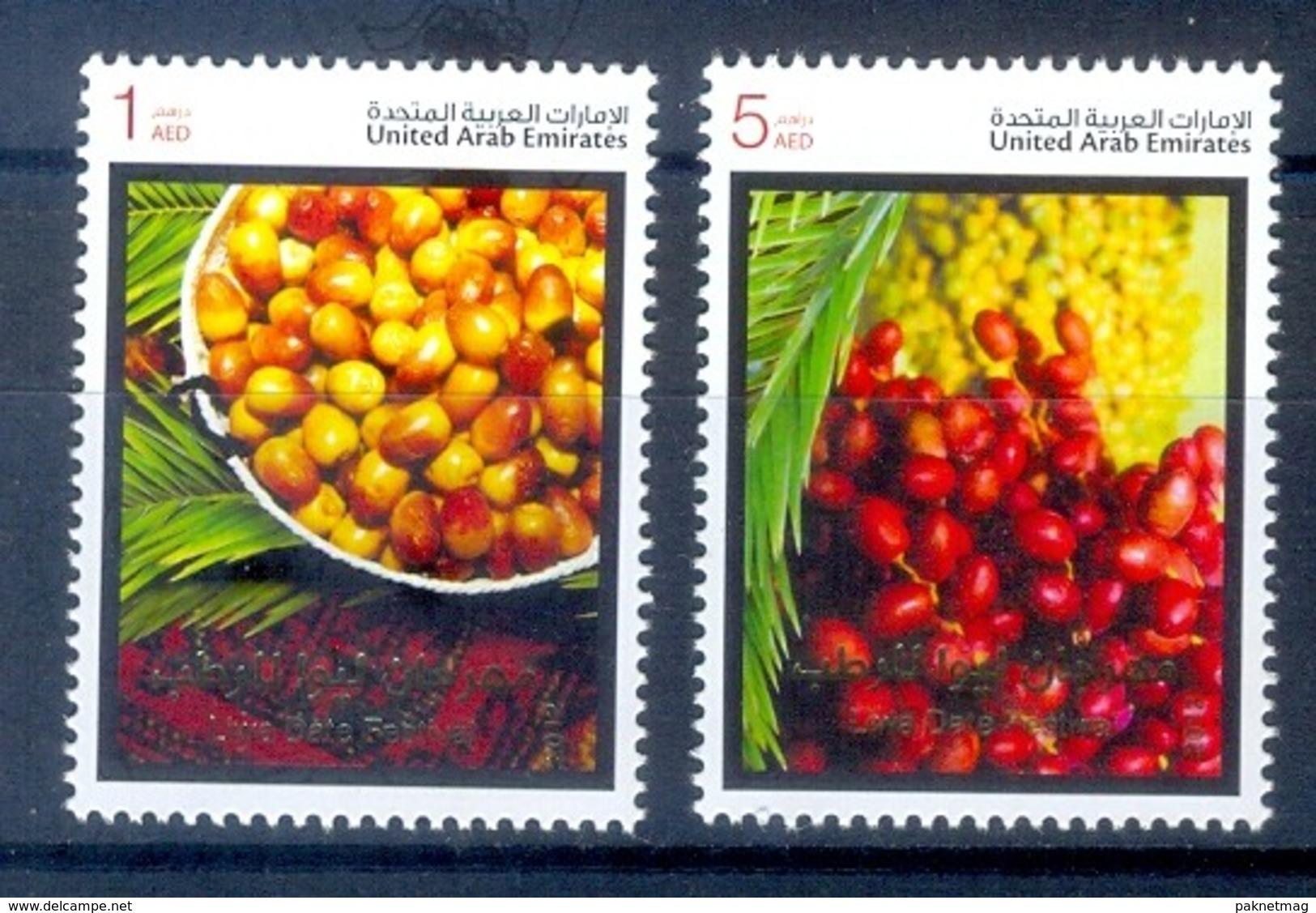 F171- United Arab Emirates 2012. Fruits Dattes Arbres Palmiers Fruit Trees Palm Dates. - United Arab Emirates