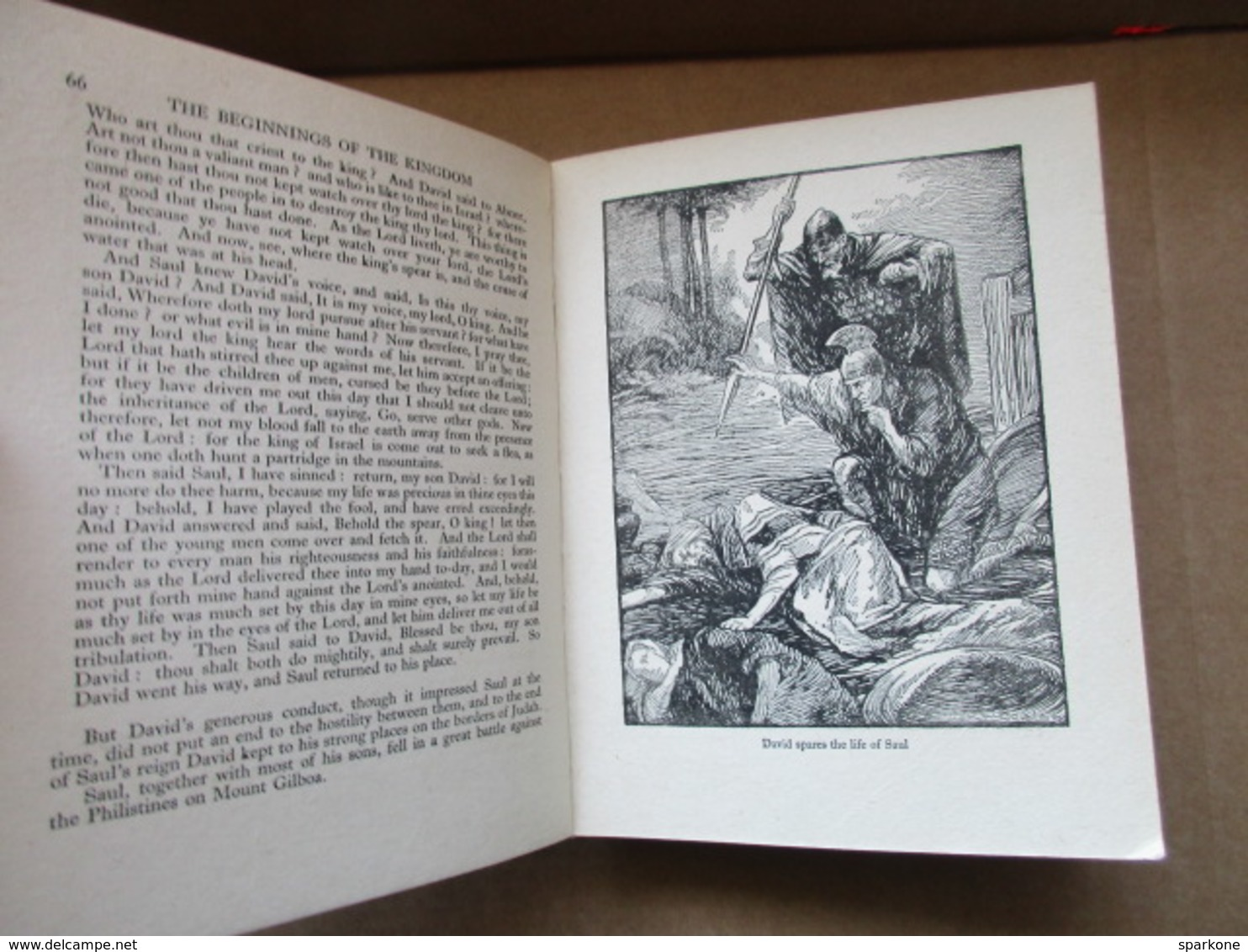 The Big Book Of The Bible (C. J. Kaberry) éditions De 1927 - Christianity, Bibles