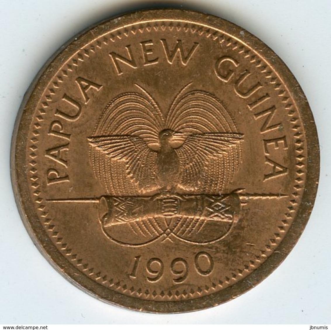 Papouasie Nouvelle Guinée Papua New Guinea 2 Toea 1990 KM 2 - Papouasie-Nouvelle-Guinée