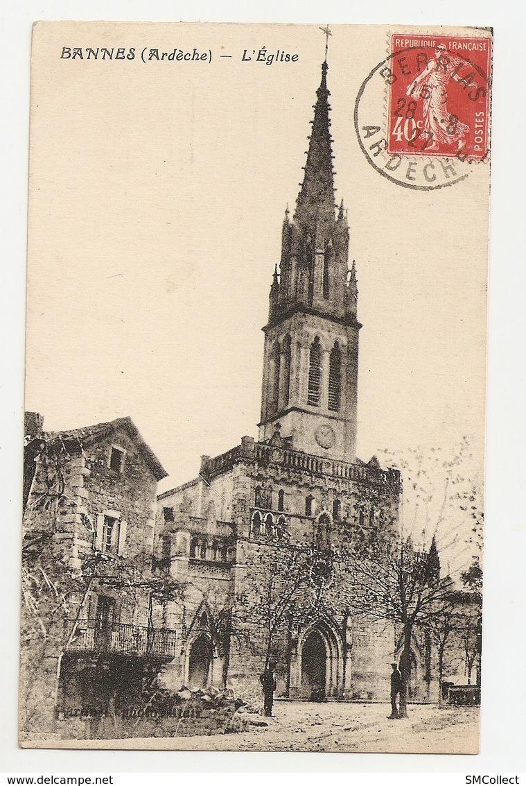 07 Bannes, L'église (2704) L300 - Other Municipalities