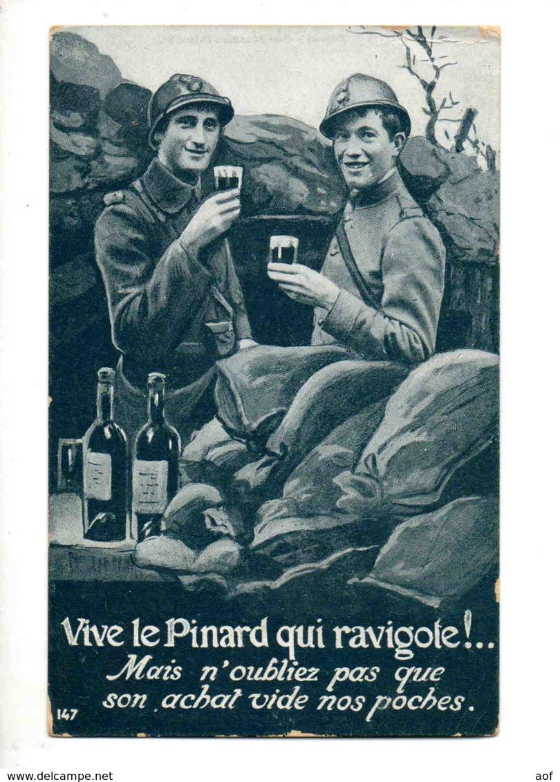 Pinard Vin Soldat Tranchée - Other