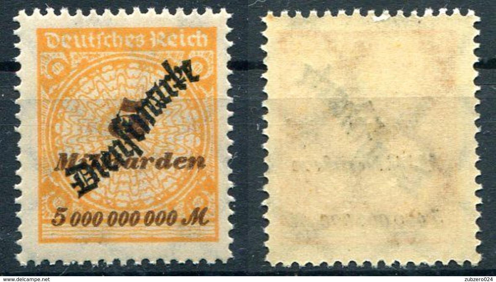 D. Reich Dienst Michel-Nr. 85 Postfrisch - Officials