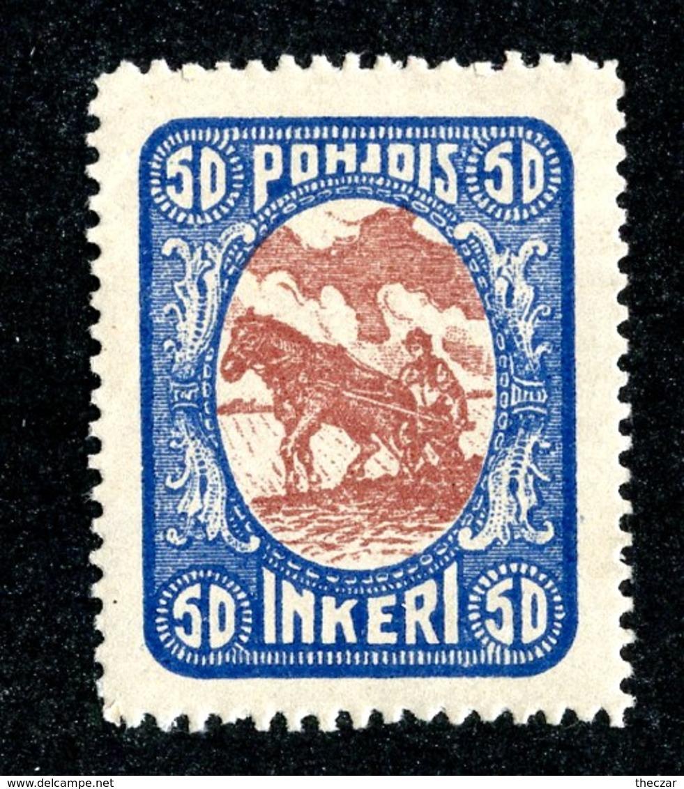 W6580  Nordingermanland 1919  Scott #10* Genuine- Offers Welcome - 1919 Occupation: Finland