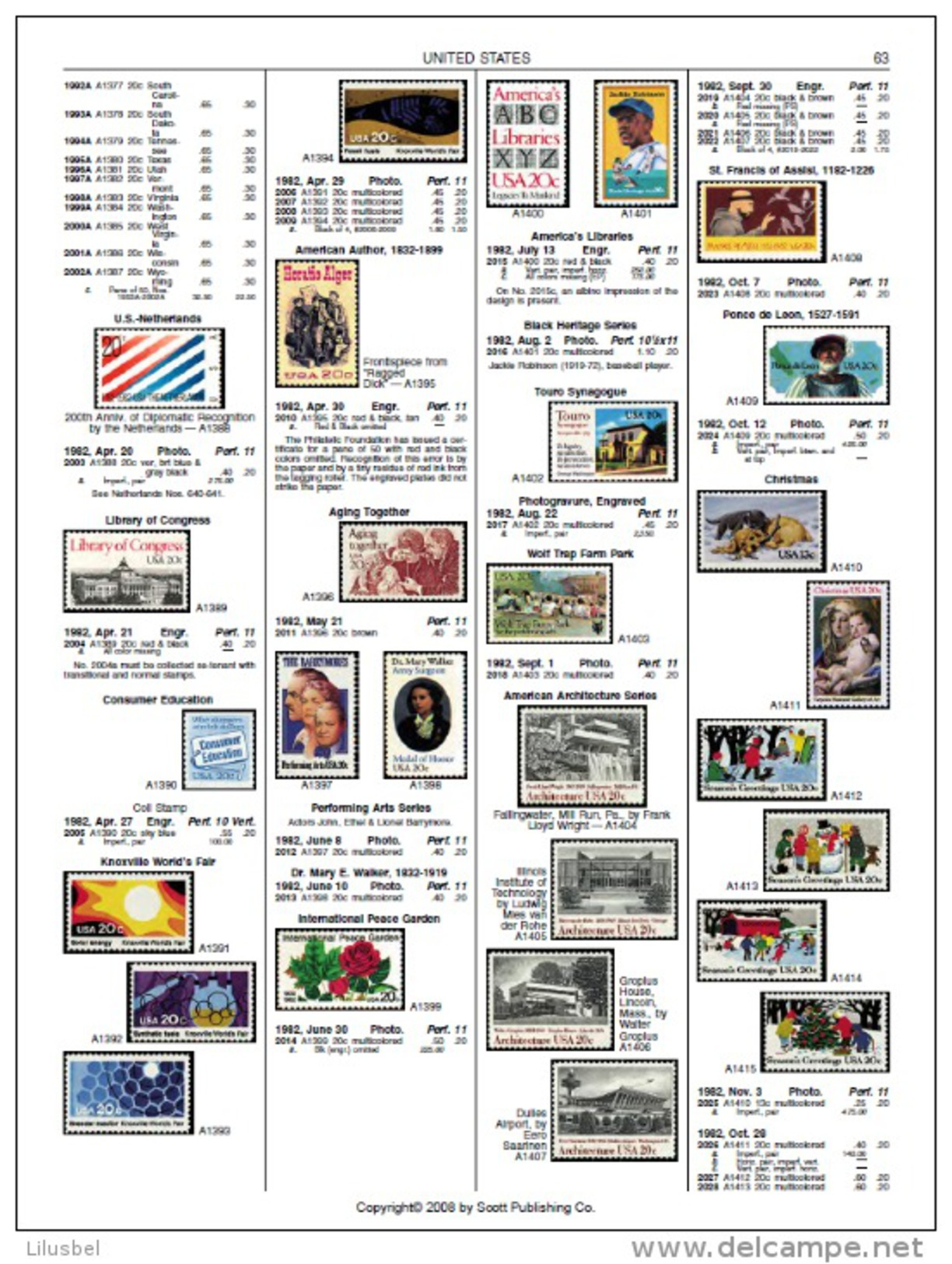 Scott Catalogue 2009 (A-Z) - Scott - Standard Postage Stamp Catalogue PDF - Cataloghi