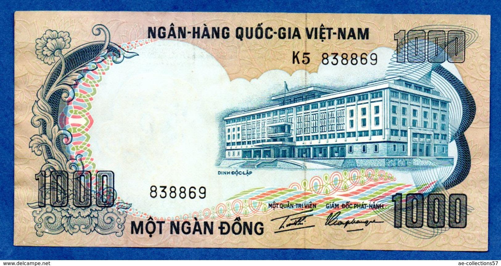 VIETNAM / 1000 Dong / Pick 34 / TTB - Vietnam