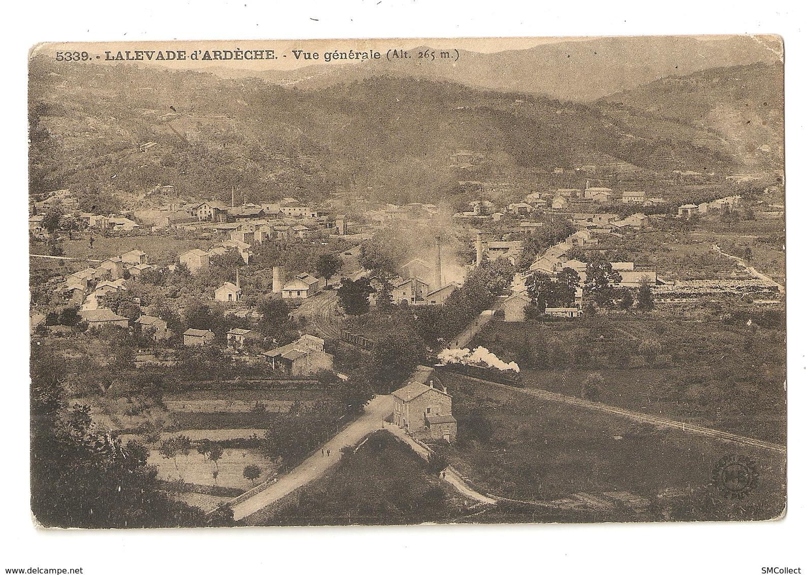 07 Lalevade D'Ardèche, Vue Générale (2787) L300 - Autres Communes