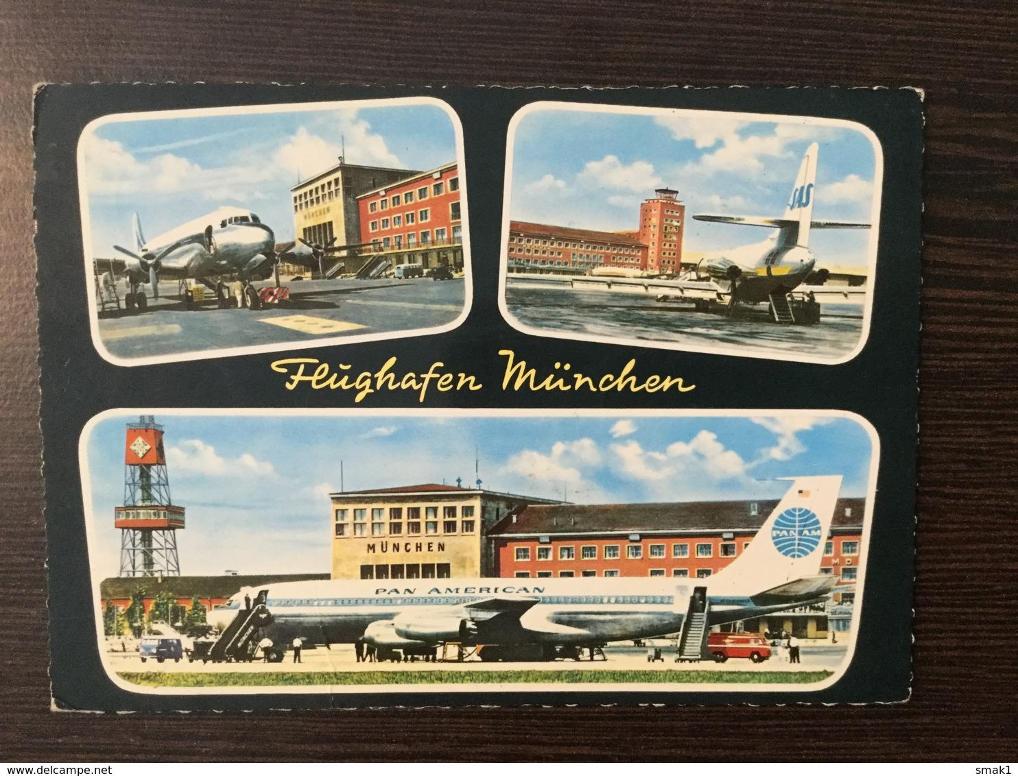 AK  AERODROME  AIRPORT  MÜNCHEN - Aerodrome