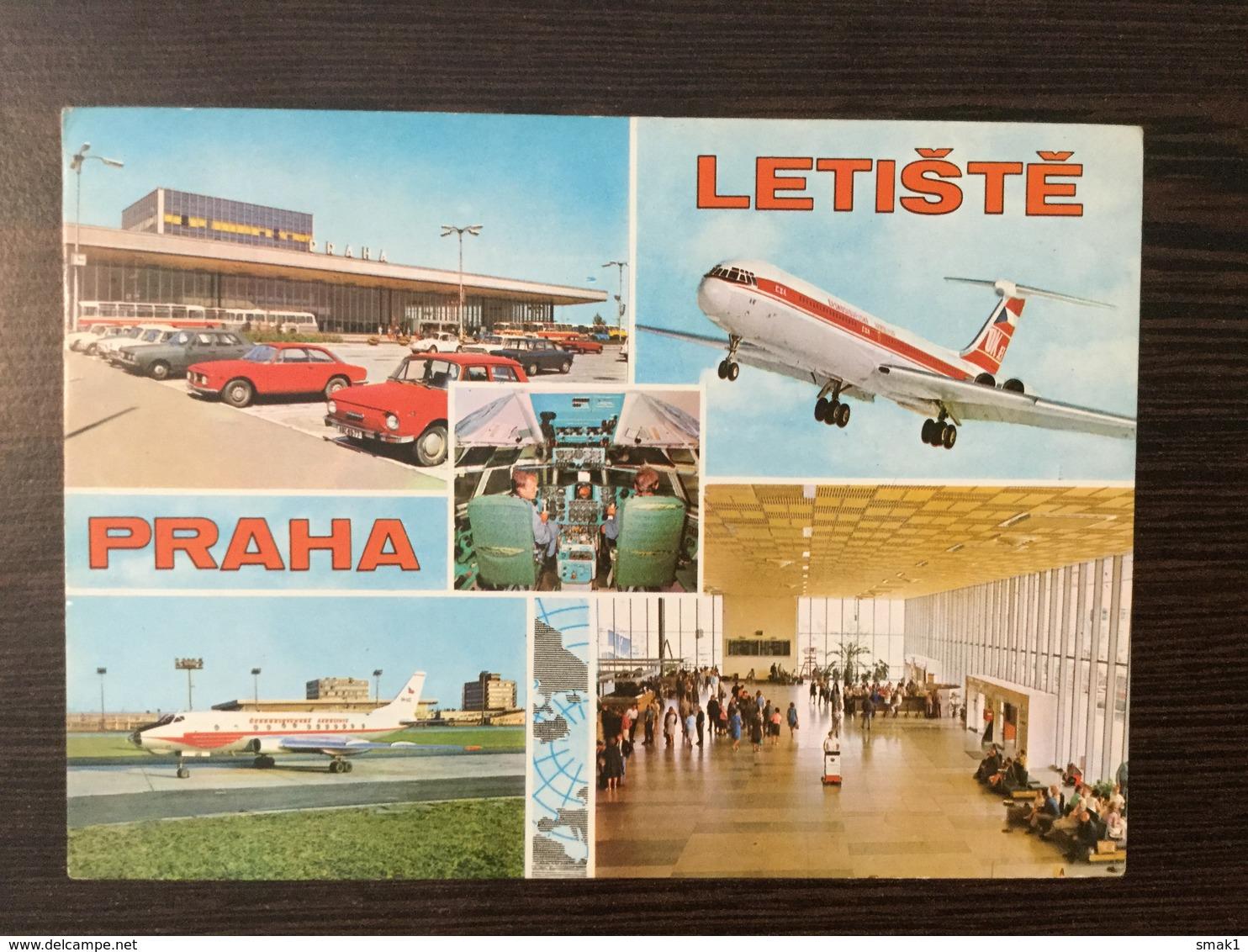 AK  AERODROME  AIRPORT  PRAHA - Aerodrome