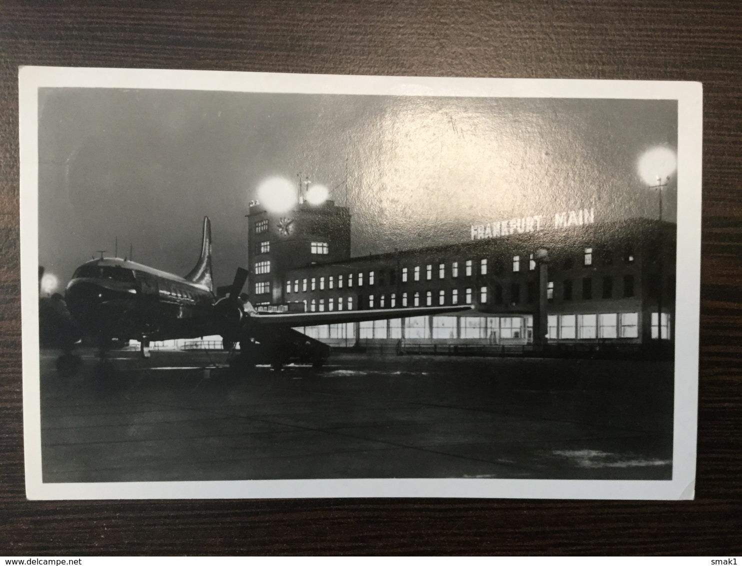 AK  AERODROM  AIRPORT  FRANKFURT - Aerodrome