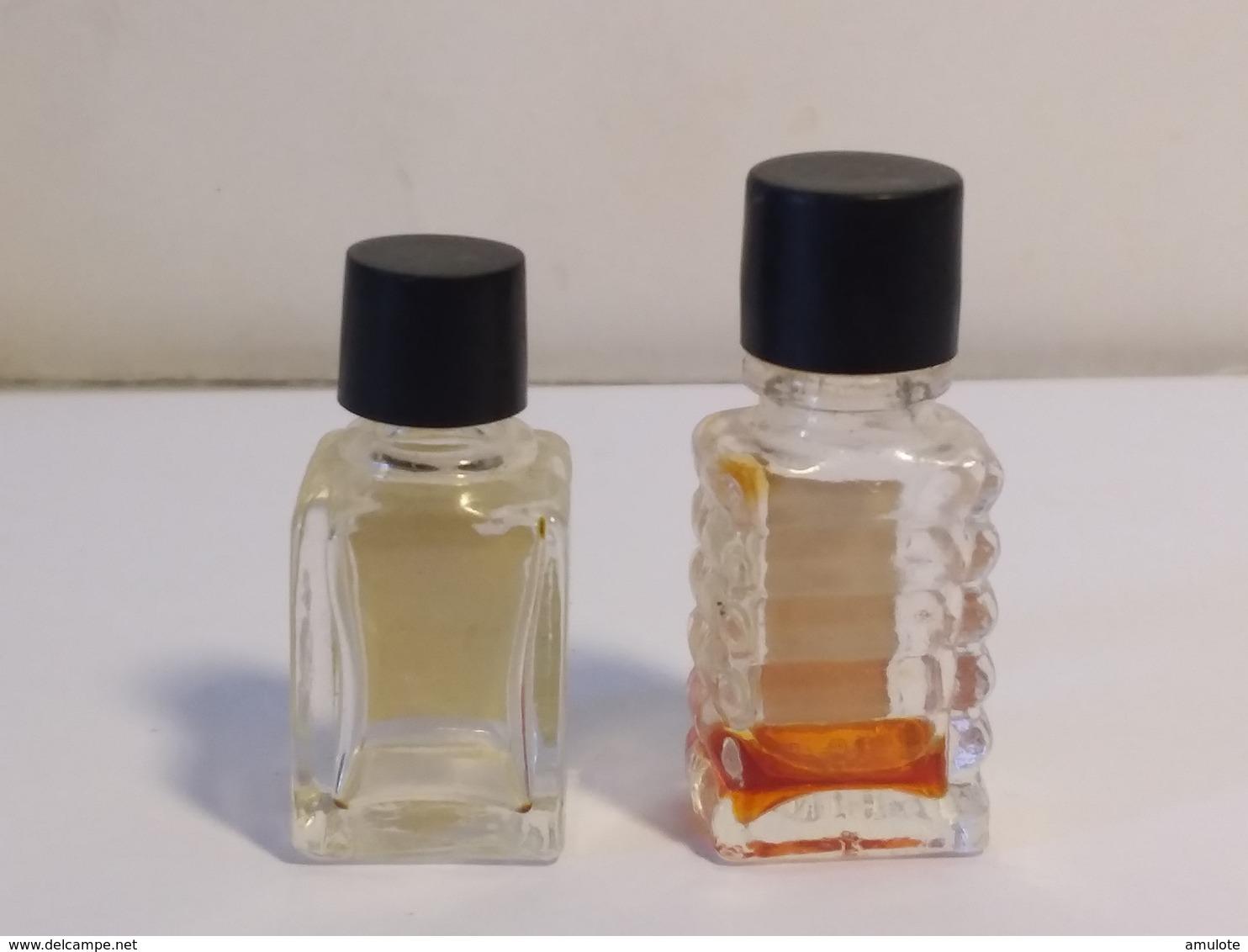 Billet Doux  Fragonard +  Malica  Charrier  2ml Type : Bouchon Noir - Miniatures Modernes (à Partir De 1961)