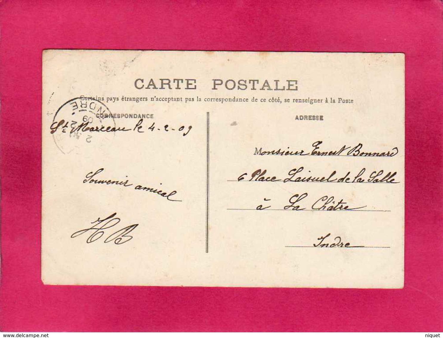45 Loiret, Orléans, Le Jardin Des Plantes, Animée, 1909, (Th. G.) - Orleans