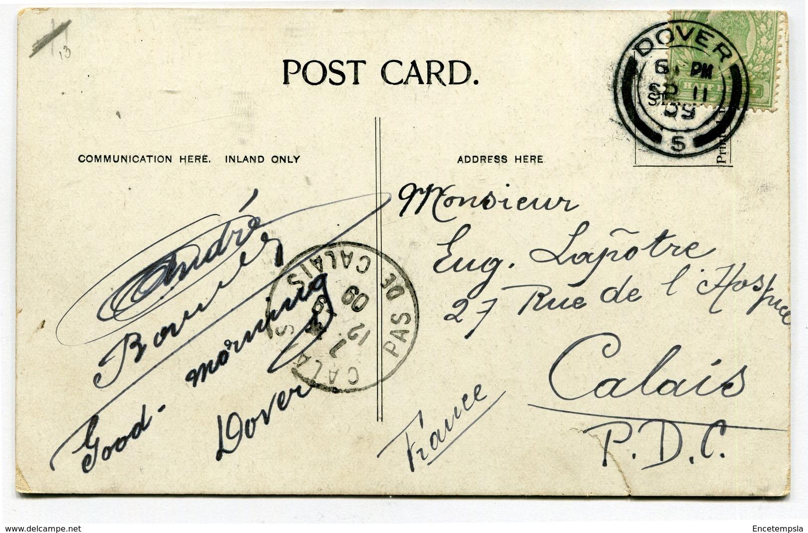 CPA - Carte Postale - Royaume-Uni - Dover - Harbourg  - 1909 (CP3243) - Dover