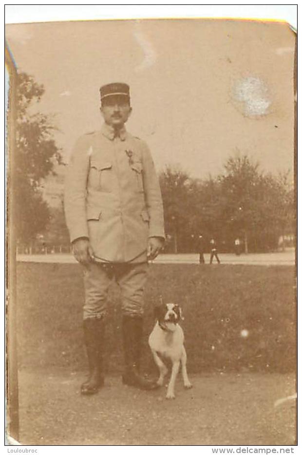 PHOTO ORIGINALE  SOLDAT PREMIERE GUERRE MONDIALE - Guerre, Militaire