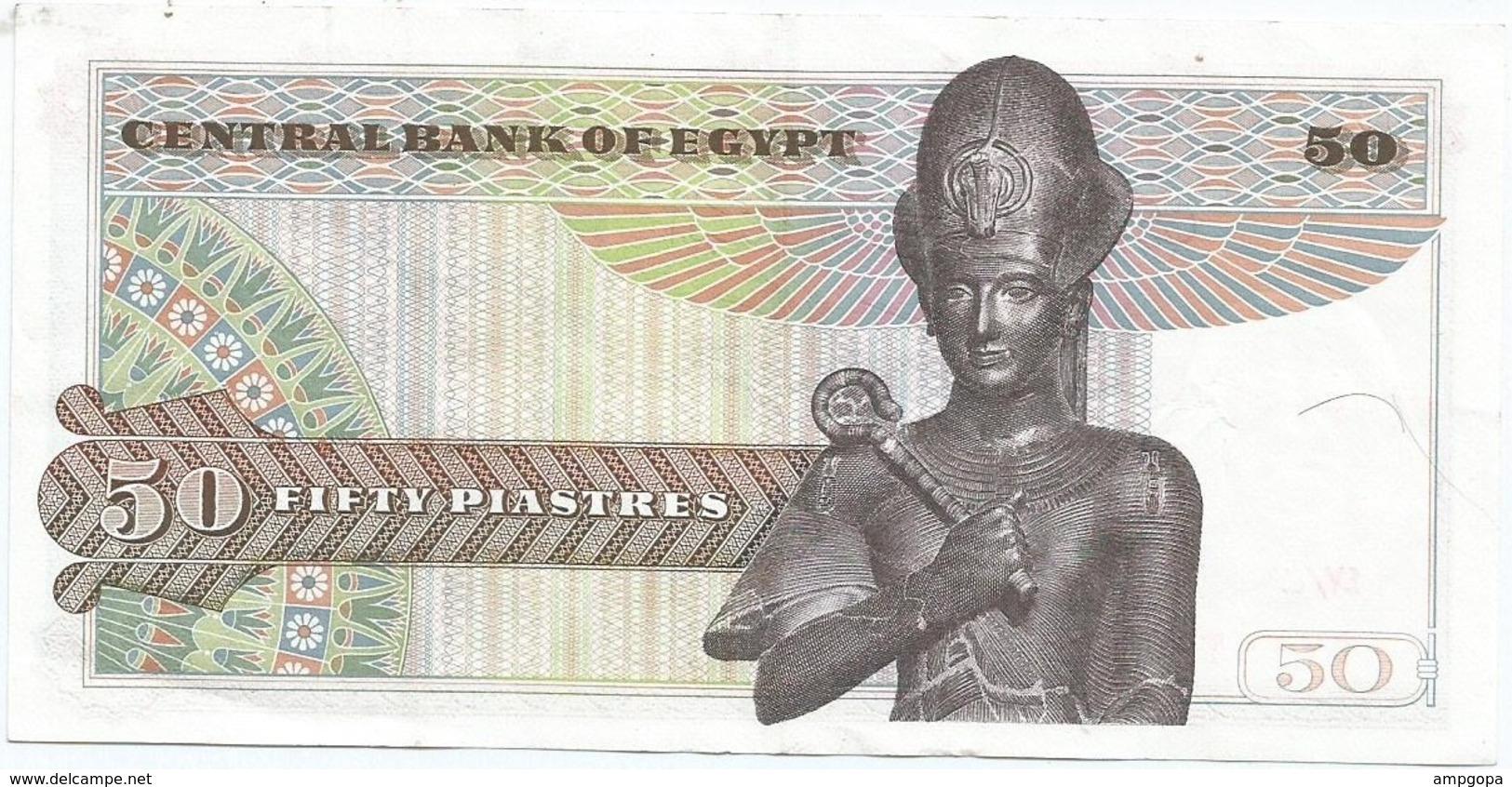 Egipto - Egypt 50 Piastres 1976 Pick 43a Ref 1339 - Egipto